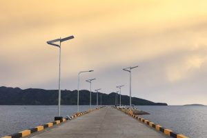 WHAT ARE THE PRICES OF SOLAR STREET LIGHTS WITH POLES?