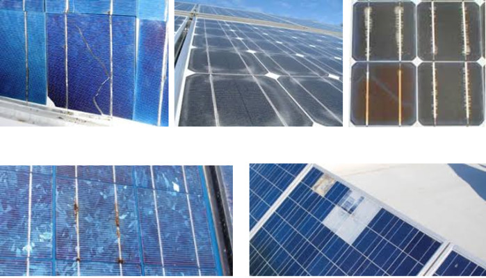 Solar panel's Corrosion and Delamination