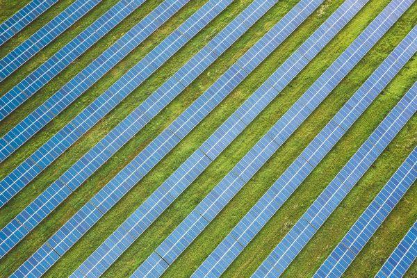 A large solar plant