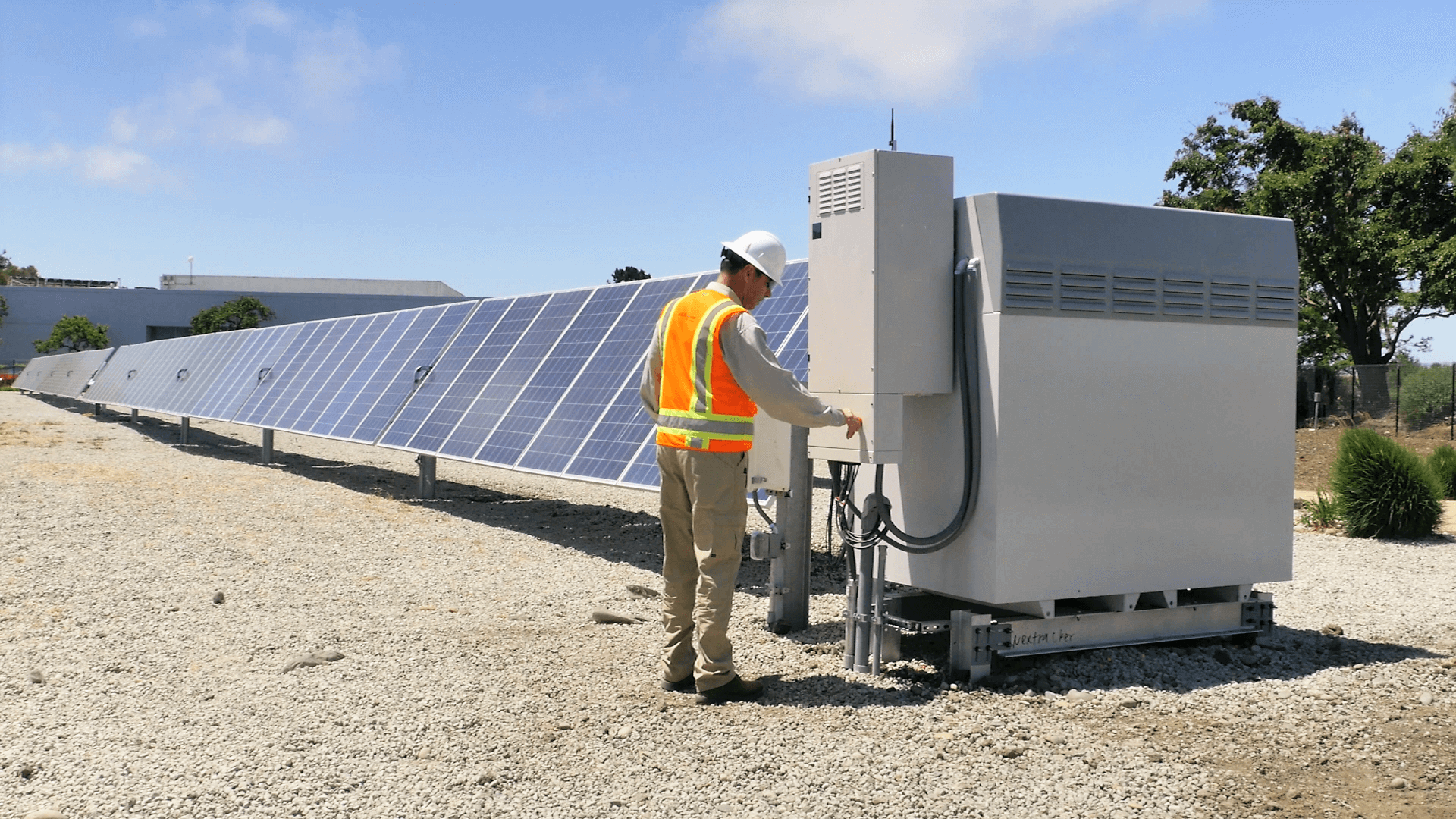 Electric Control Panels are Good for Large Solar Project